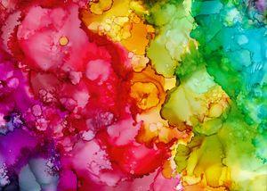 Rainbow I - Wandering Bloom Art
