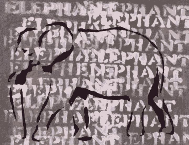 The word is Elephant - Munchart