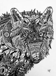 Glare of a Lone Wolf -  Dustinthom27