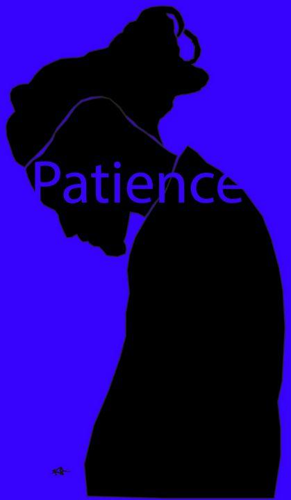 Patience - Black Girl Art