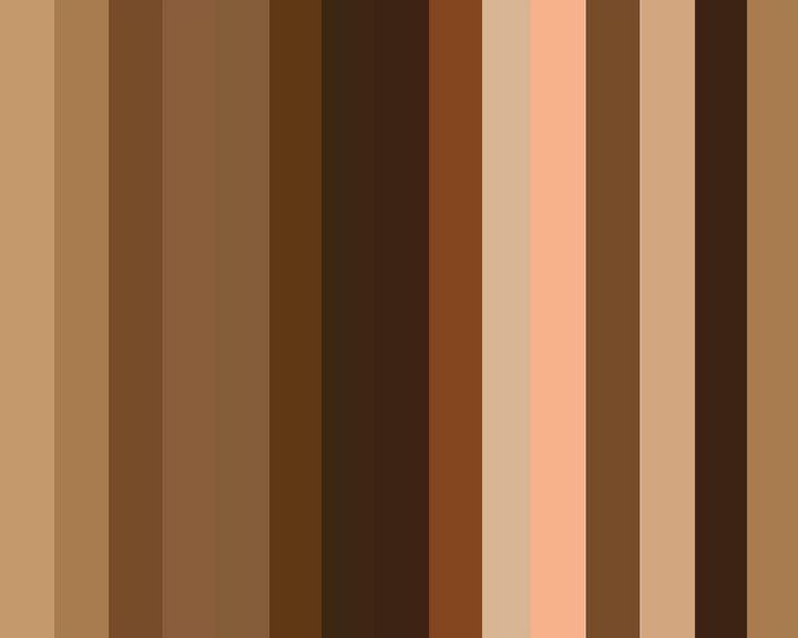 Brown is Beautiful - Black Girl Art