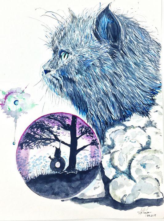 Kitten - Art by Anthony Tran