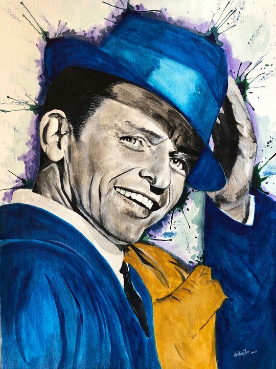 """Frank Sinatra - Art by Anthony Tran"
