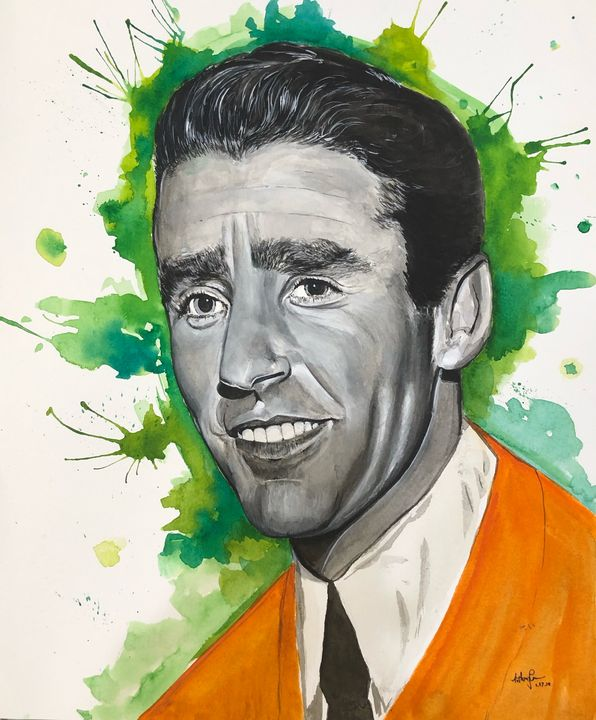 """""""Peter Lawford"""" - Art by Anthony Tran"""