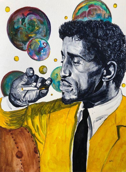 """""""Sammy Davis Jr."""" - Art by Anthony Tran"""
