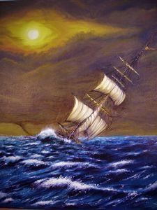 Stormy weather Olivier Van Malleghem