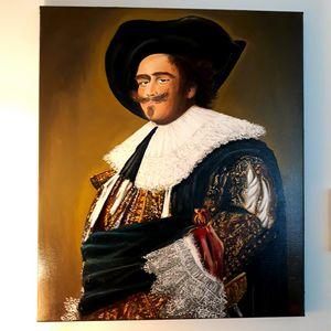 Frans Hals Riant Cavalier copy