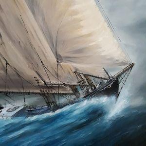Bluenose Schooner