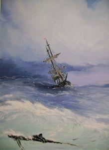 Aivazovski marine copy
