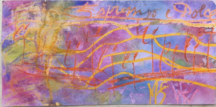 """Dolce"" watercolor - PW BERN"