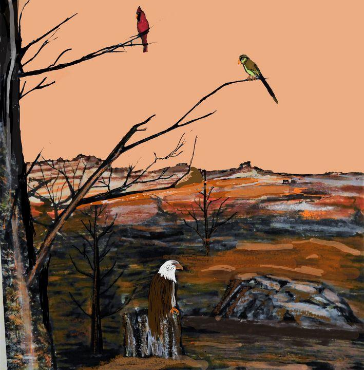 Eagles and Friends - Richardson's Unique Creations