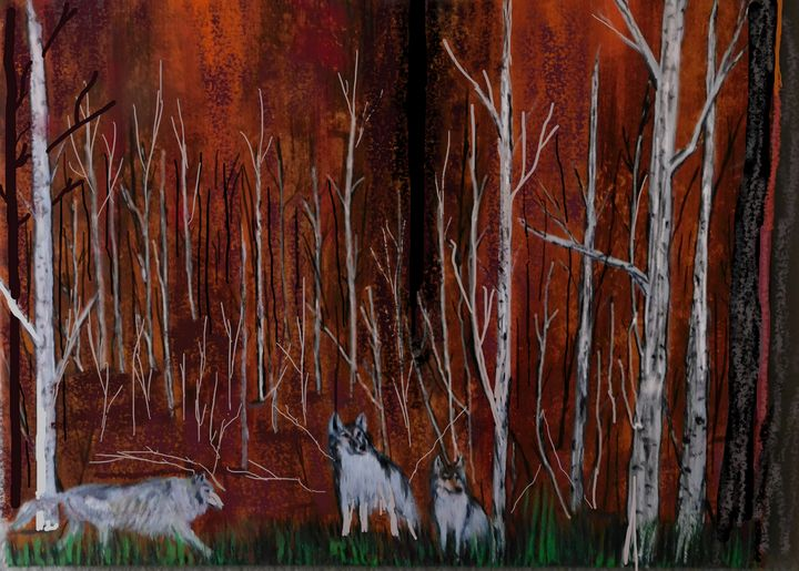 Wolves and the Colors of Nature - Richardson's Unique Creations