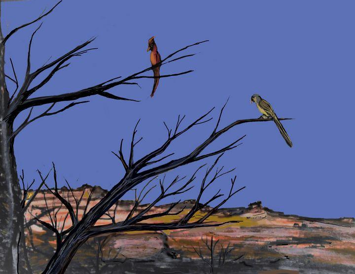 Bird Bruhs Hangin' - Richardson's Unique Creations