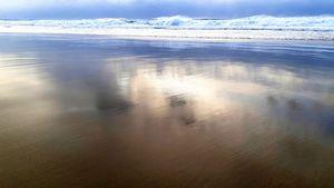 Sand reflectionso Borestranda