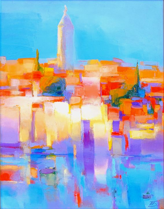 Croatia. Rovinj. - painting