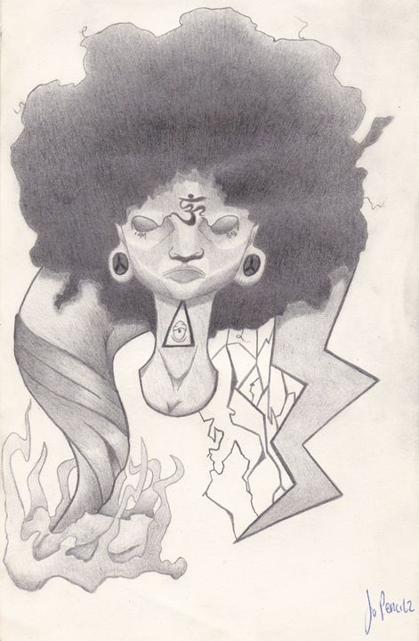 Mad Black Woman - Jo Pencilz