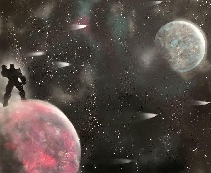 thanos galaxies - Art Prizm