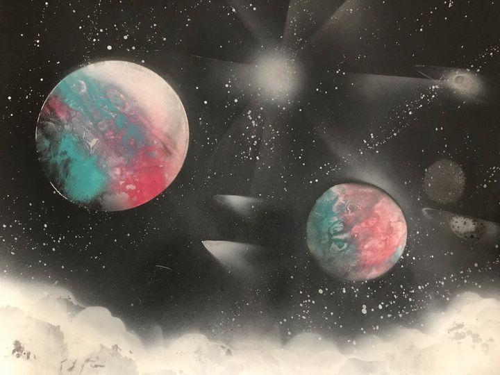 Galaxy & Space - Art Prizm