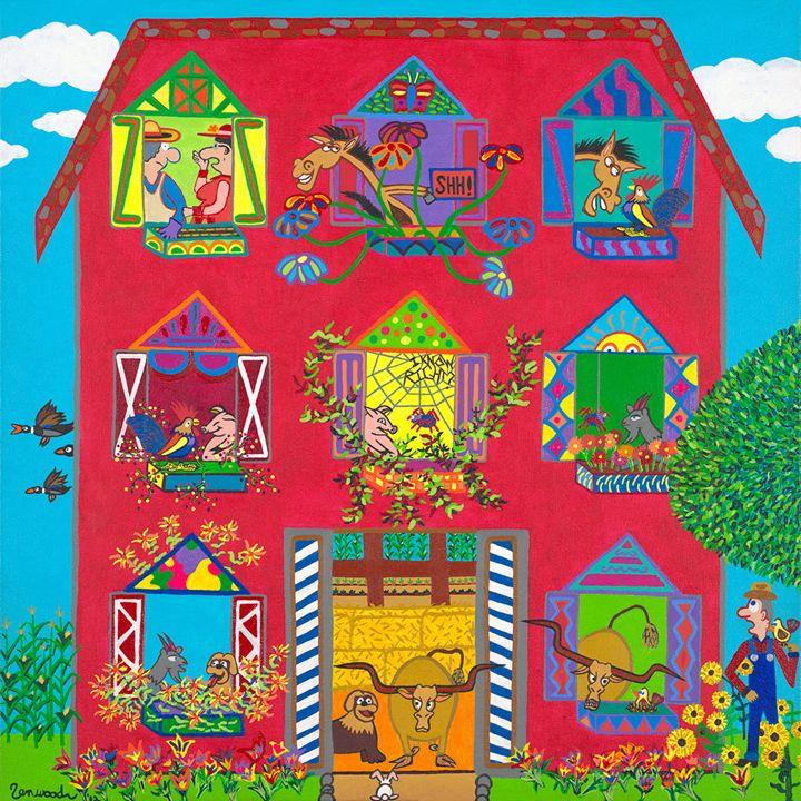 Gossipy Farm Animals - Zenwood's Windows