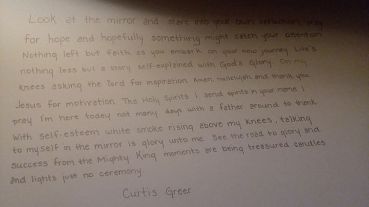 Gods Glory Quote - Curtis' Dynamic Art Gallery