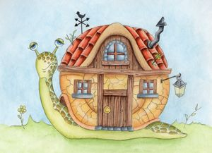A Snails House