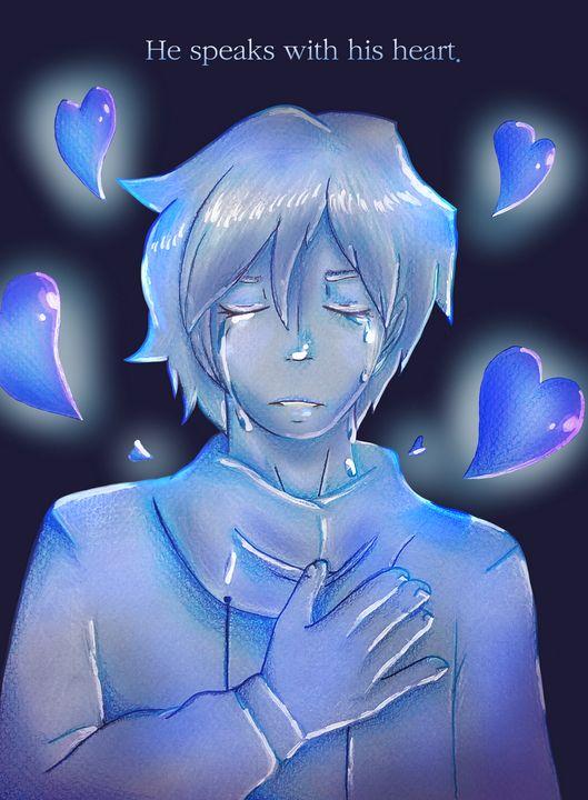 He speaks with his heart - cupcakewarp