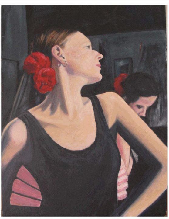 Flamenco dancer - Liz Coppock
