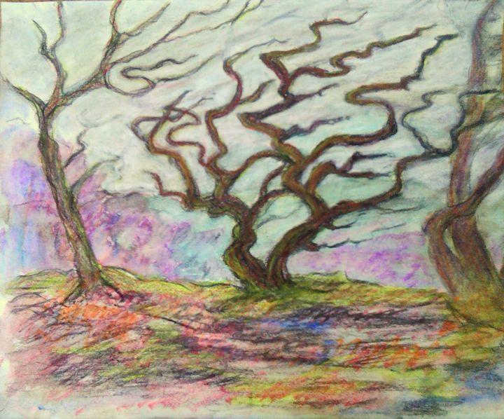 Happy tree - Liz Coppock