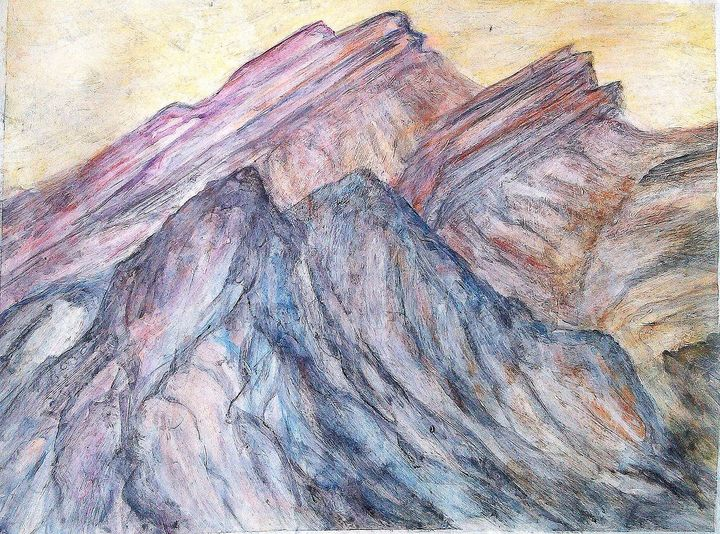 the Rockies ll - Liz Coppock
