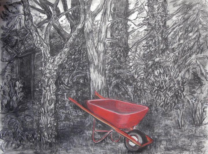 The bottom of my garden - Liz Coppock