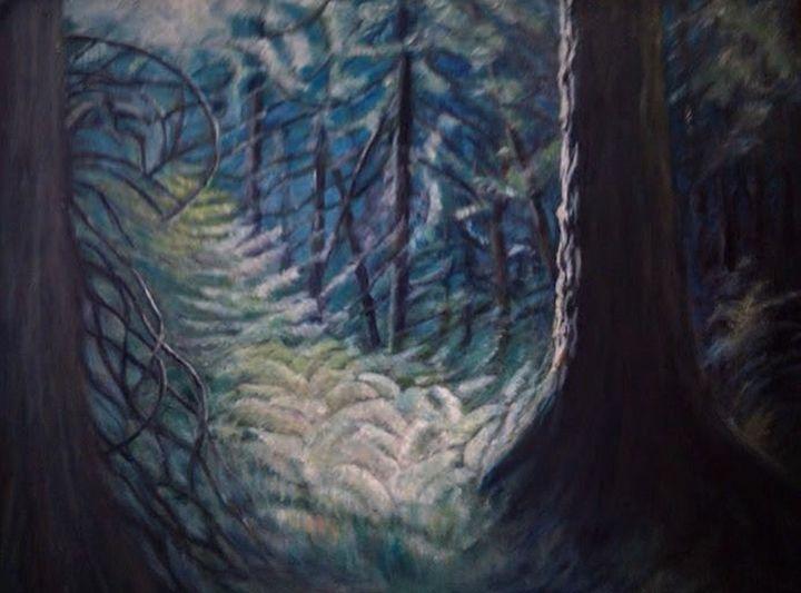 Forest Light - Liz Coppock