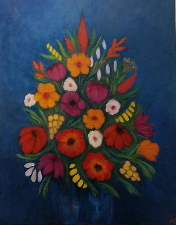 A bouquet for you - Liz Coppock