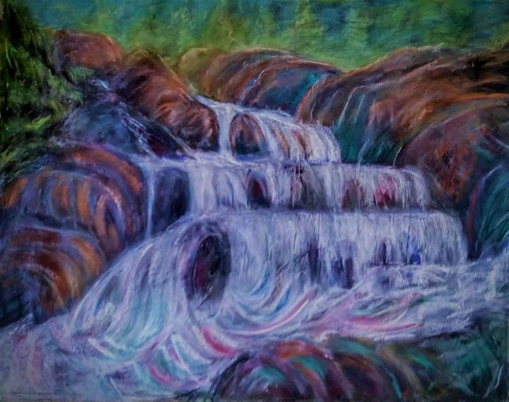 Waterfall - Liz Coppock