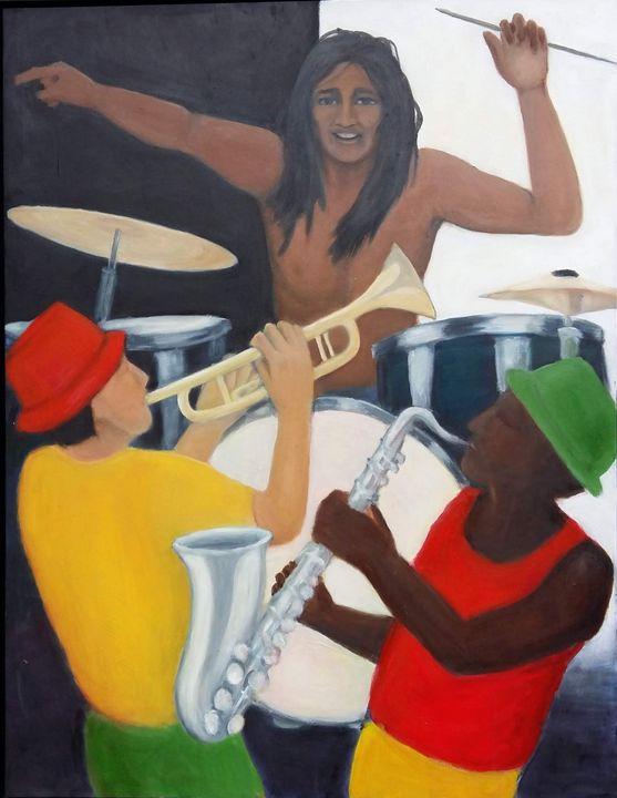 Reggae Band - Liz Coppock