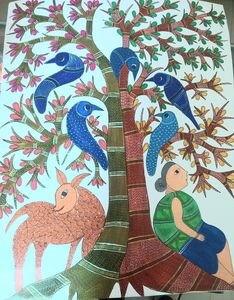Tree of life,gond style