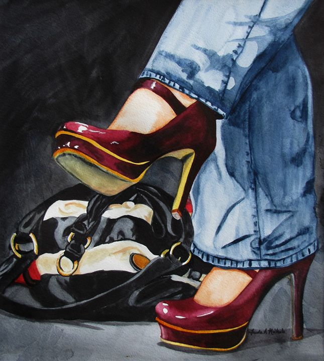 Red Shoes - FANphotography & Fine Art