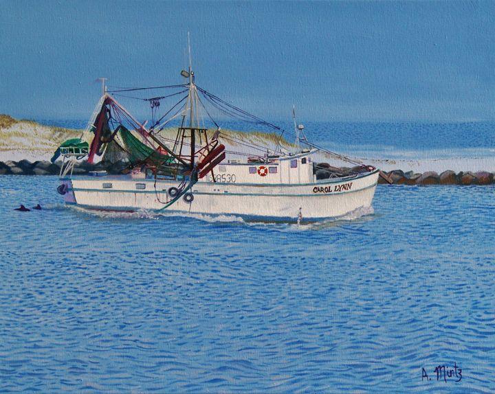 Shrimp Boat Carol Lynn - Alan Mintz Gallery