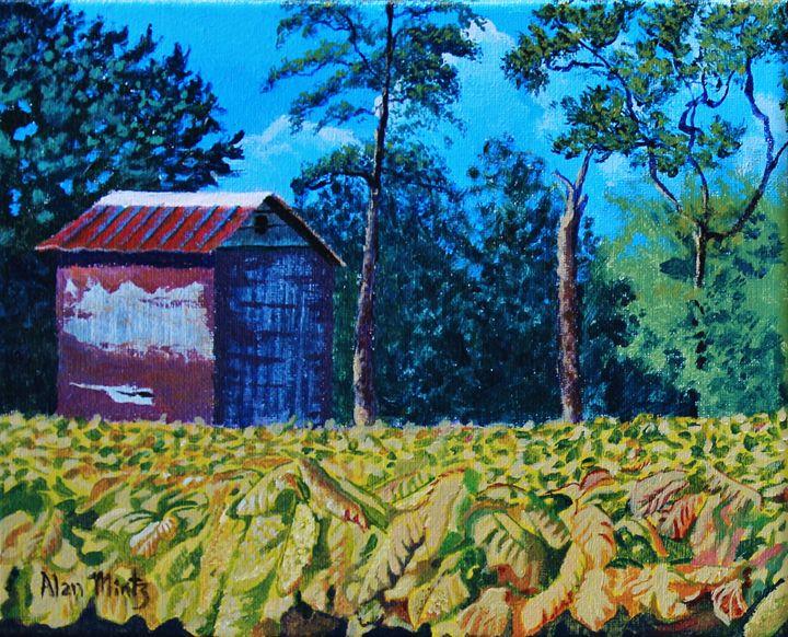 Tobacco Barn - Alan Mintz Gallery