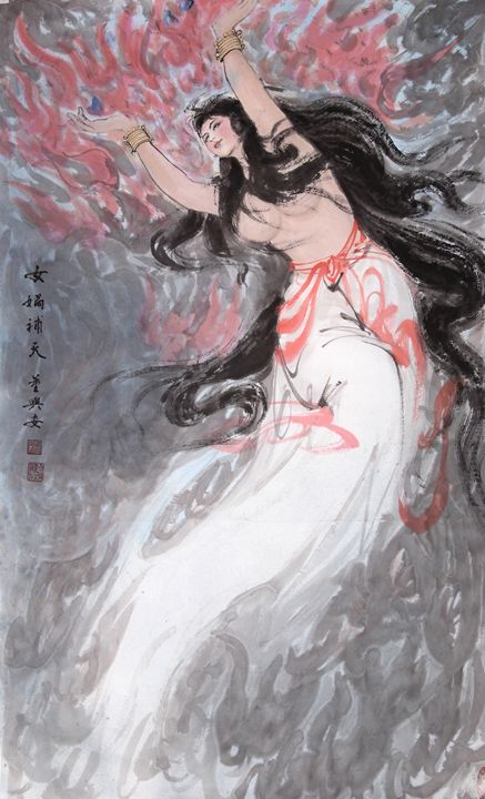 nuwa - Chinese Paint