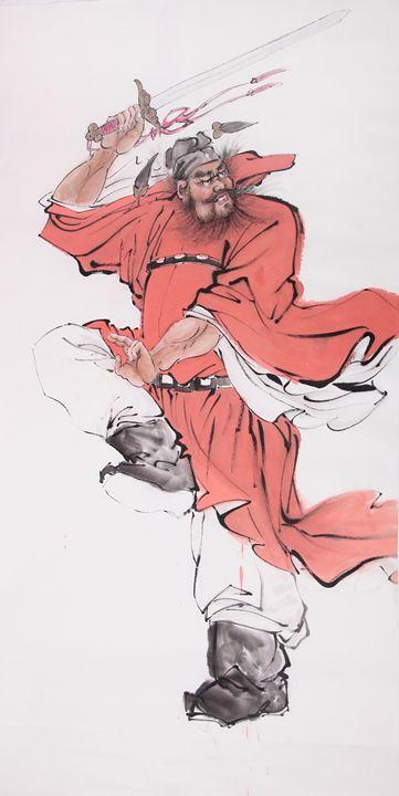 Zhong Kui - Chinese Paint