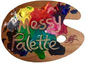 Messy Palette by Leigh Larson