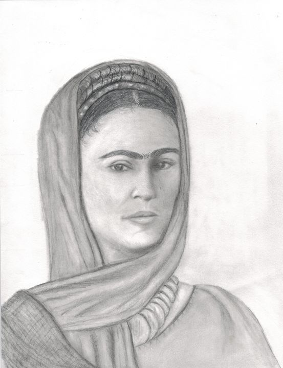 Frida Kahlo - Michele's Sketches
