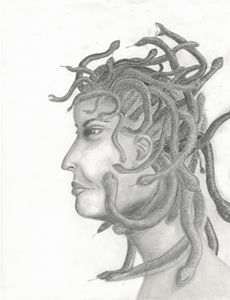 Medusa - Michele's Sketches