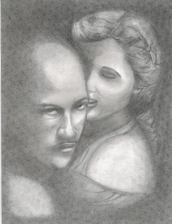 Othello and Desdemona - Michele's Sketches