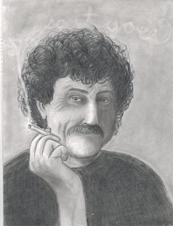 Vonnegut - Michele's Sketches