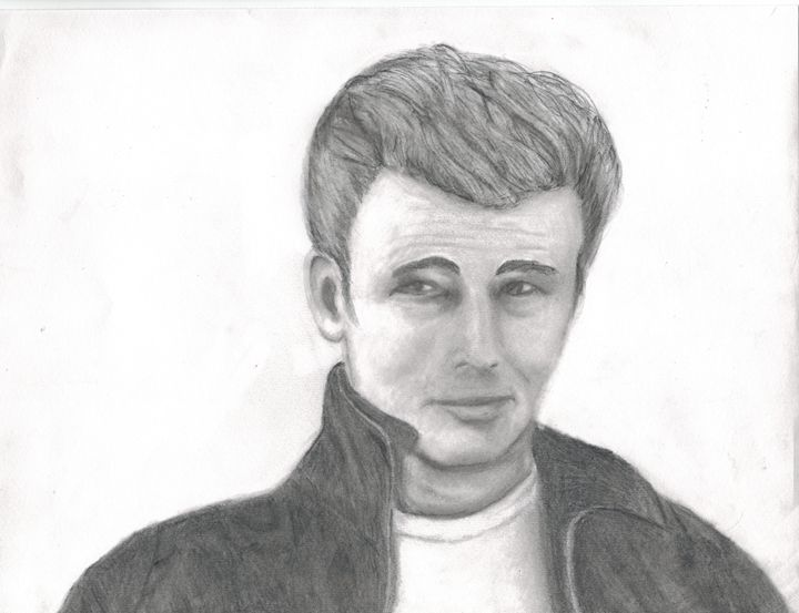 James Dean - Michele's Sketches