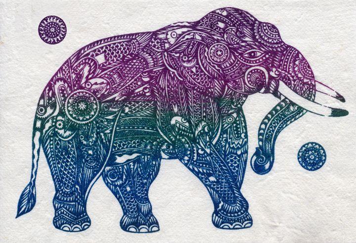Elephant Image - Artonpic