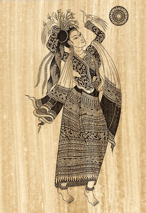 The goddess soft dancer - Artonpic