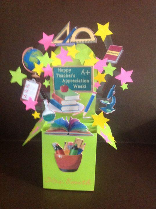 Teacher's Appreciation Bouquet Box - JC Designs
