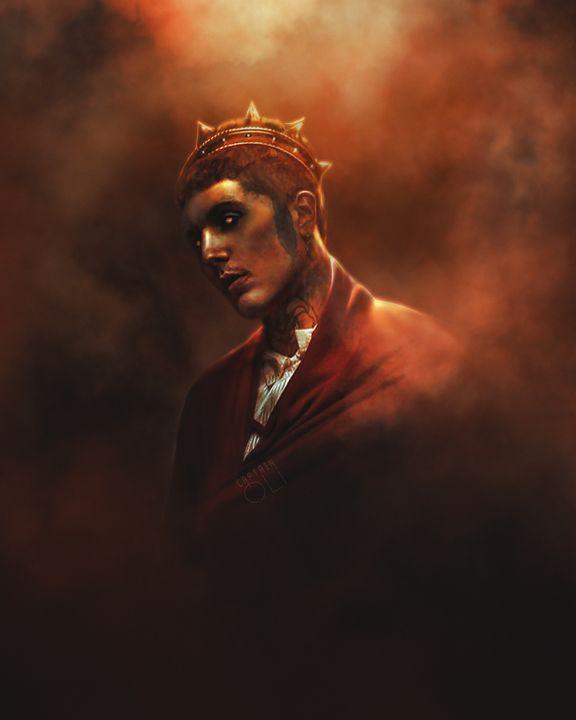 Oliver Sykes Obey - CaptainOli Art